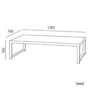 サントス テーブル サイズ