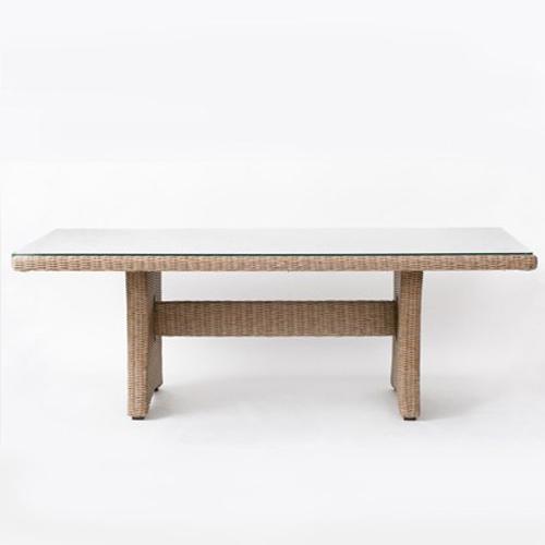 クアレンタ ビッグダイニングテーブル フロント