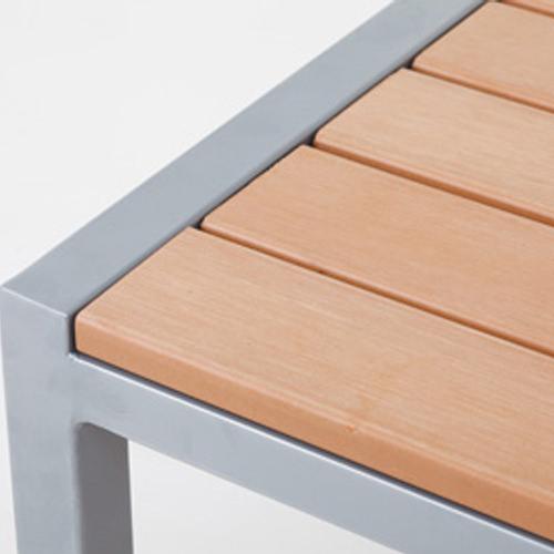 オリンダ テーブル(PVCレザー)素材