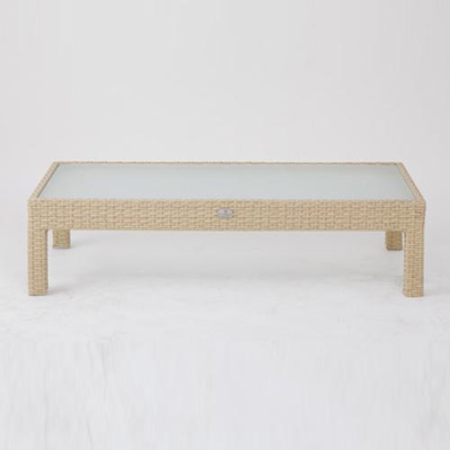 サンルイス ガラステーブル フロント